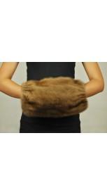 Hände und Schulterwärmer  aus Pelz - Nerzpelz