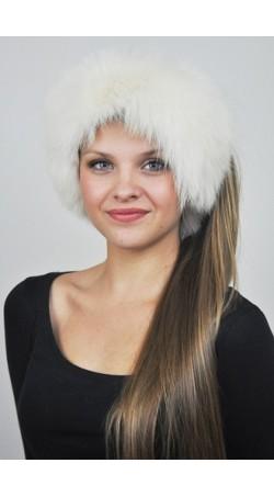Halswärmer und Stirnbänder aus Weissfuchs