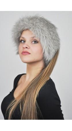 Halswärmer und Stirnbänder aus Graufuchs