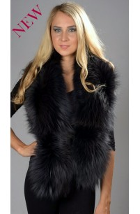 Blue Fox Fur Collar
