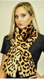 Kanadischer Biber Schal - künstlich gefleckt oder mit Befleckungswirkung
