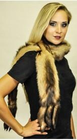 Polar-Stinktier Schal - mit Schwanz